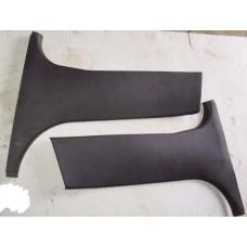 Накладки чёрные  нижние  внутренние  на боковые стойки